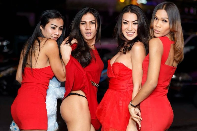 Guess Bar Ladyboys In Bangkok