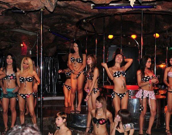 Cacades Ladyboy Bar Bangkok Thailand