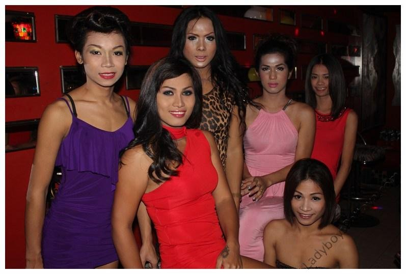 Famous Ladyboy Bar  Staff
