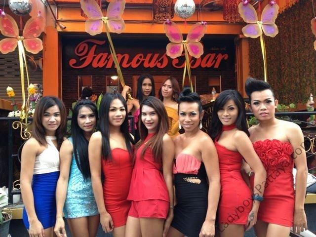 Ladyboy Famous Bar In Pattaya Thailand