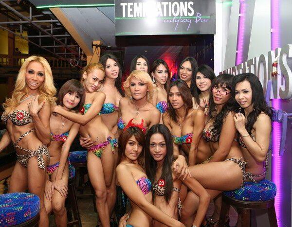 Temptations Ladyboy Bar Bangkok Thailand Nana Plaza