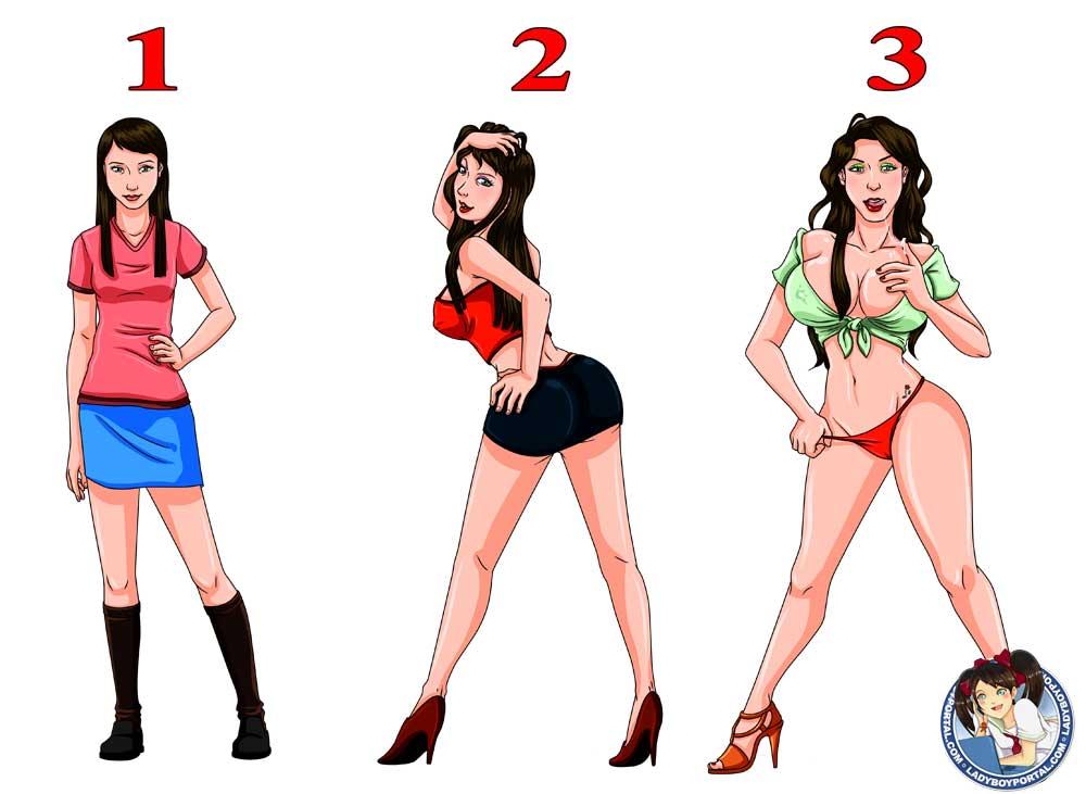 Evolution of the ladyboy