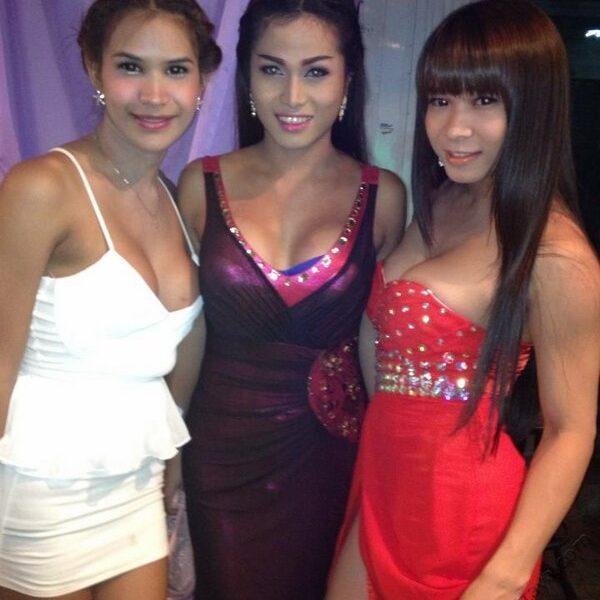 Ladyboys at Lita Bar Pattaya