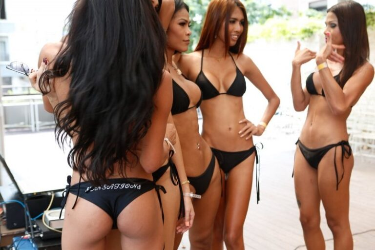 Sexy Ladyboy Volleyball Pattaya