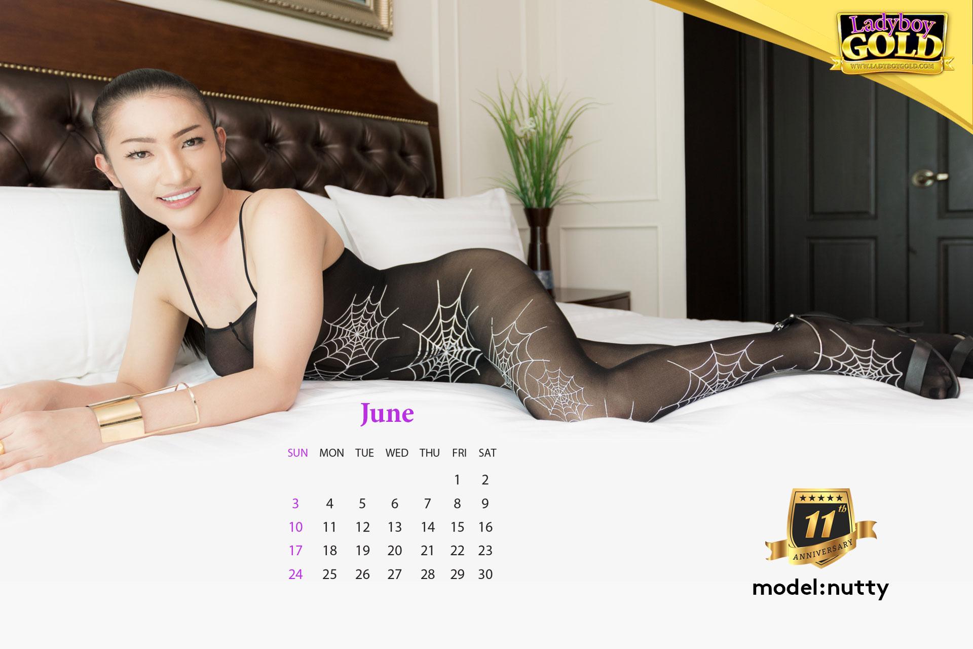 Ladyboy Gold Calendar