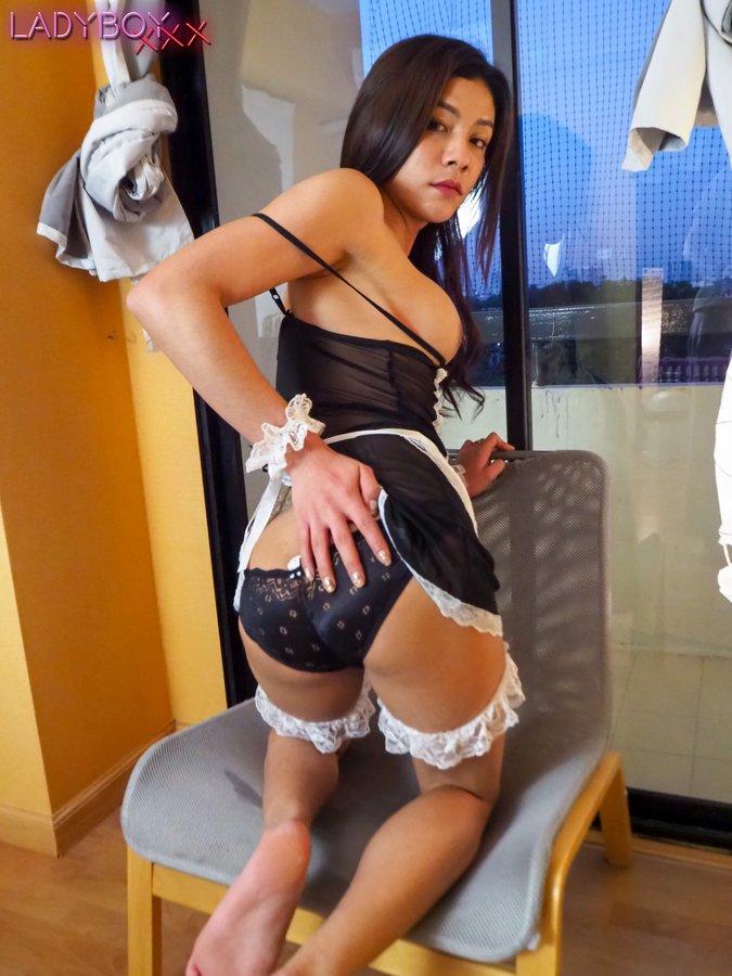 Bangkok Ladyboy Maid Tess