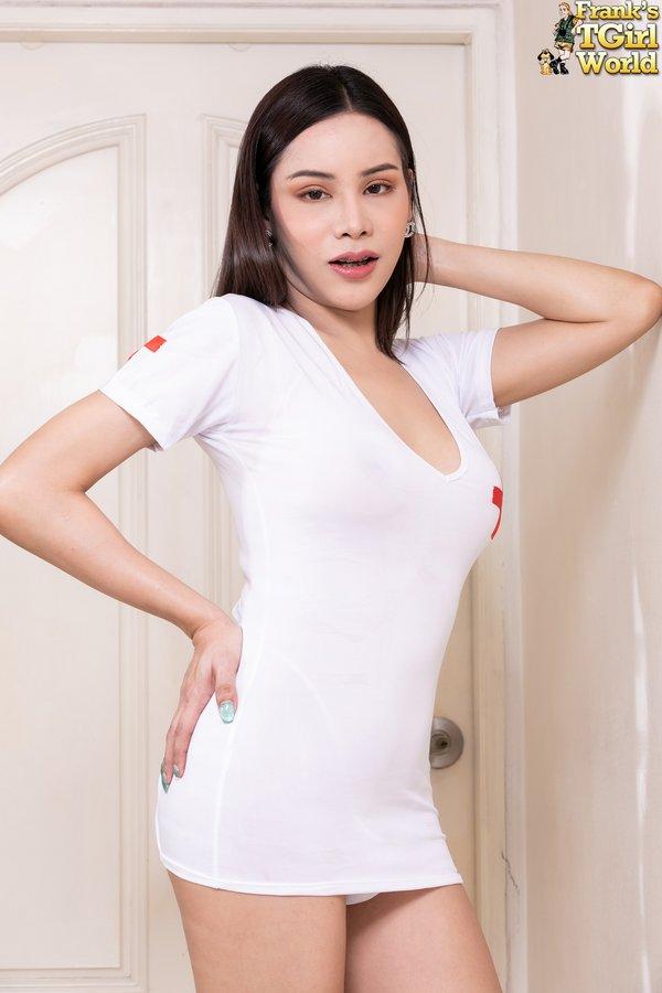 Ladyboy nurse Ava