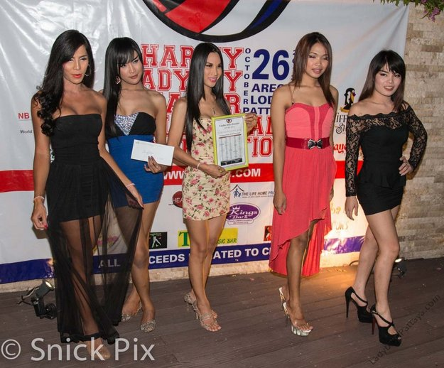 Ladyboy String Fellows