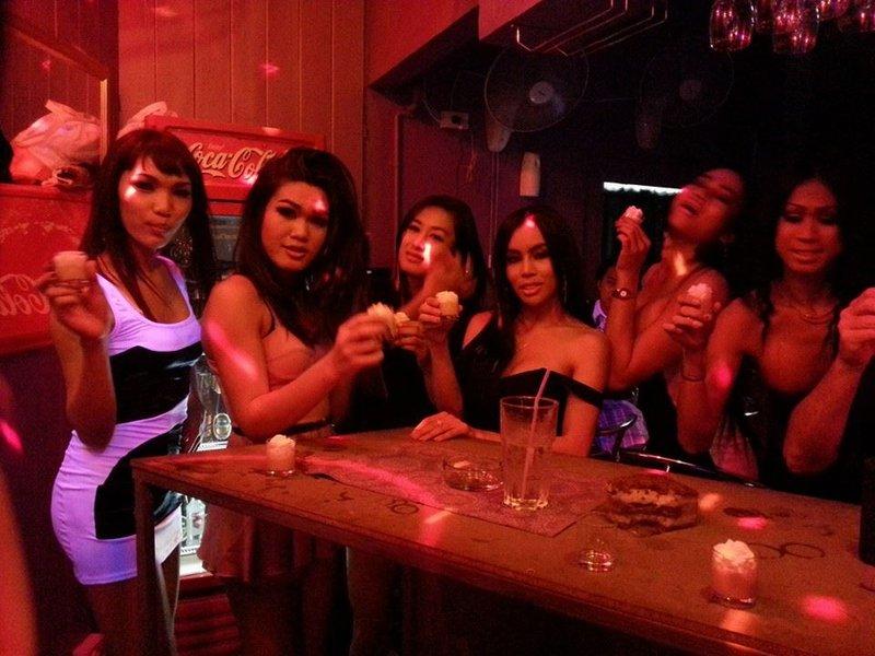 Check In Bar Ladyboy Staff In Bangkok