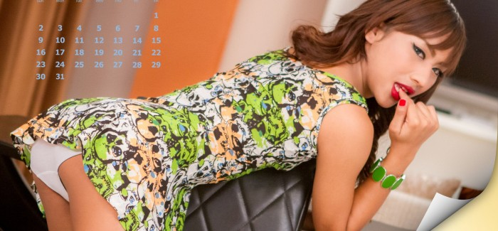 Ladyboy Calendar For Desktop