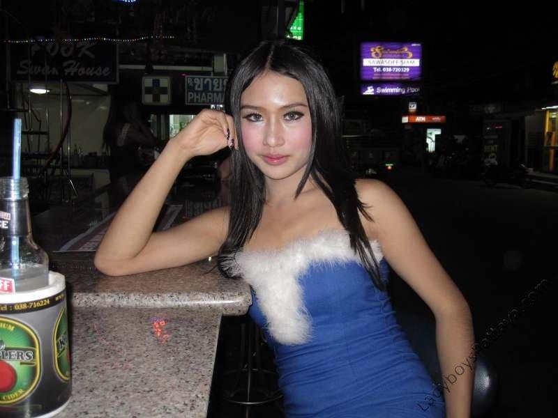 ladyboy Pook Bar Pattaya Thailand Babe