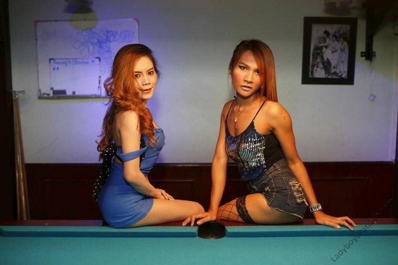 Darkside Ladyboy Bar Bangkok Thailand Lounge  Sexy Staff