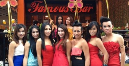 Ladyboy Famous Bar In Pattaya Thailand