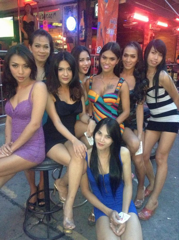 Ladyboys on Pook Swan Bar Soi 6