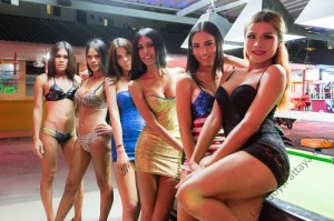 Ladyboy Sensations Bar Pattaya