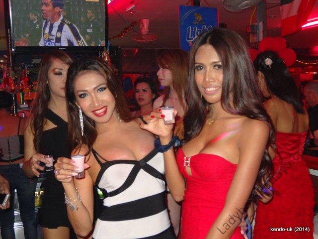 Ladyboy Sensations Bar Pattaya Super Models Thailand Parties