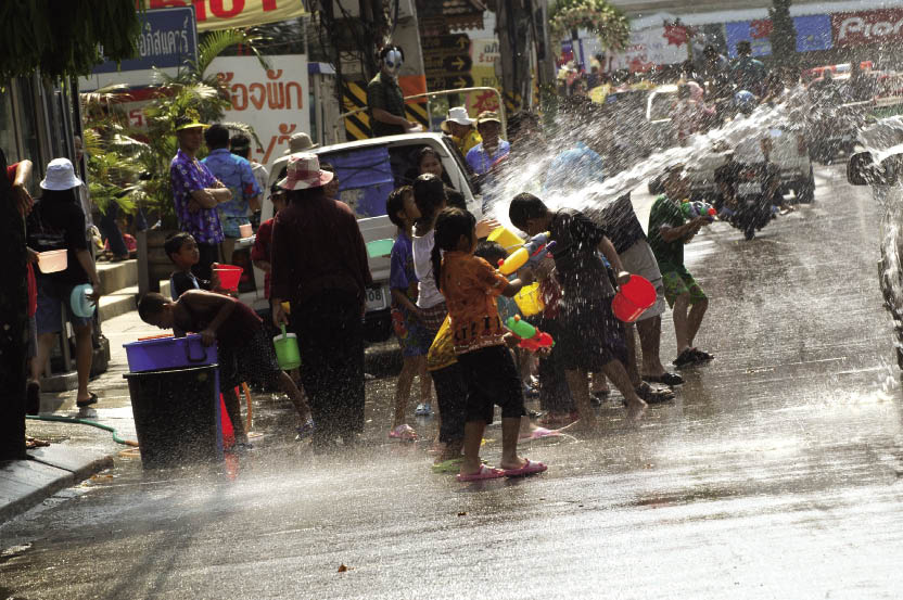 Songkran Thailand Holiday
