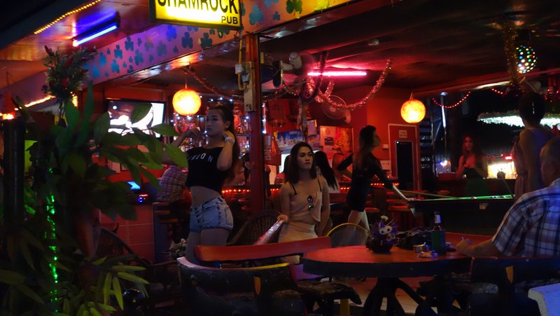 ladyboy shamrock bar Chiang Mai