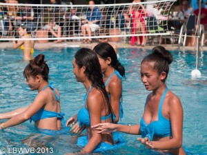 Ladyboy Water Volleyball Tournament babes
