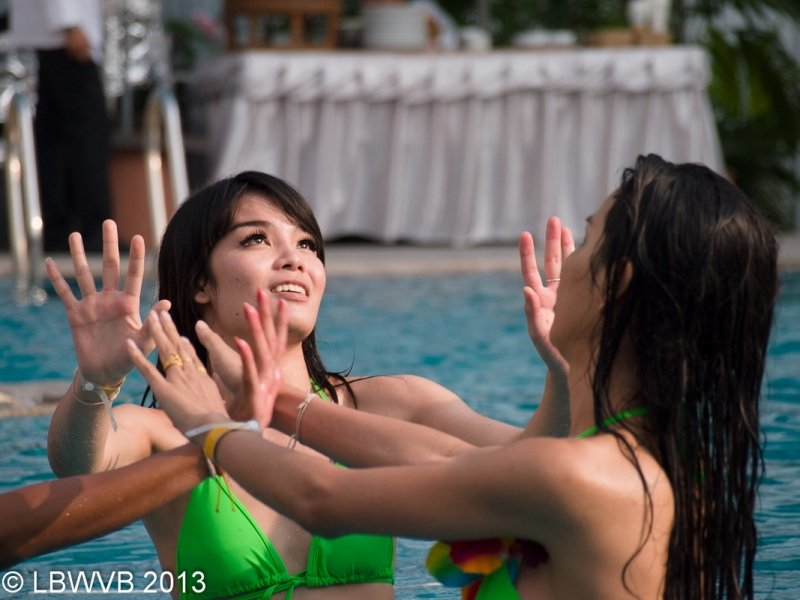 Ladyboy Water Volleyball Tournament