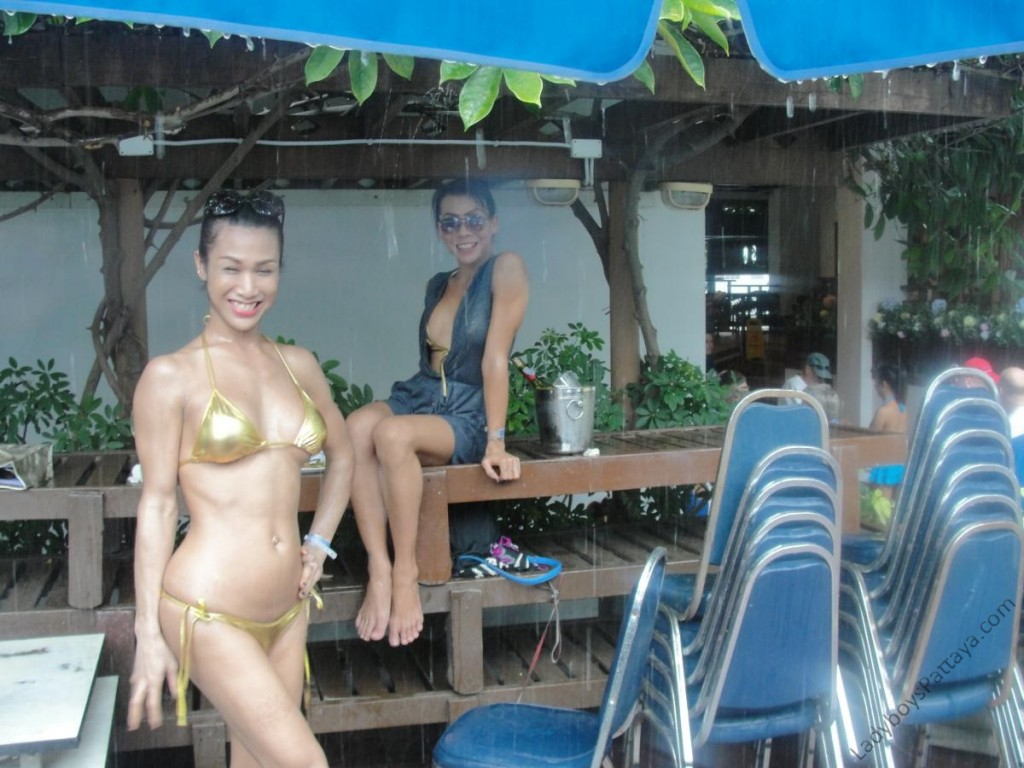 Ladyboy Water Volleyball Event 2014 babes