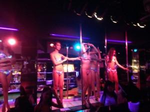 A Fairy Bar Bangkok Ladyboys Stage