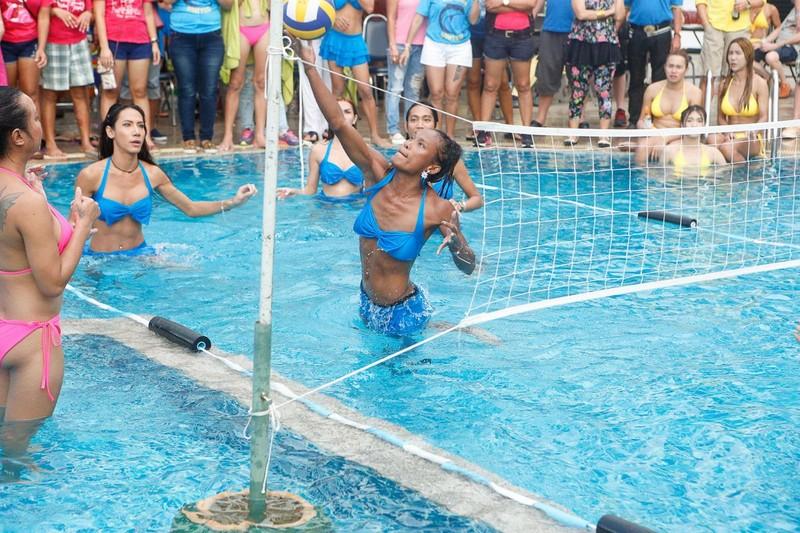 Ladyboy Volleyball Pics