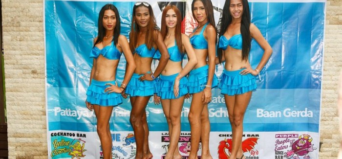 Ladyboy Water Volleyball 2015