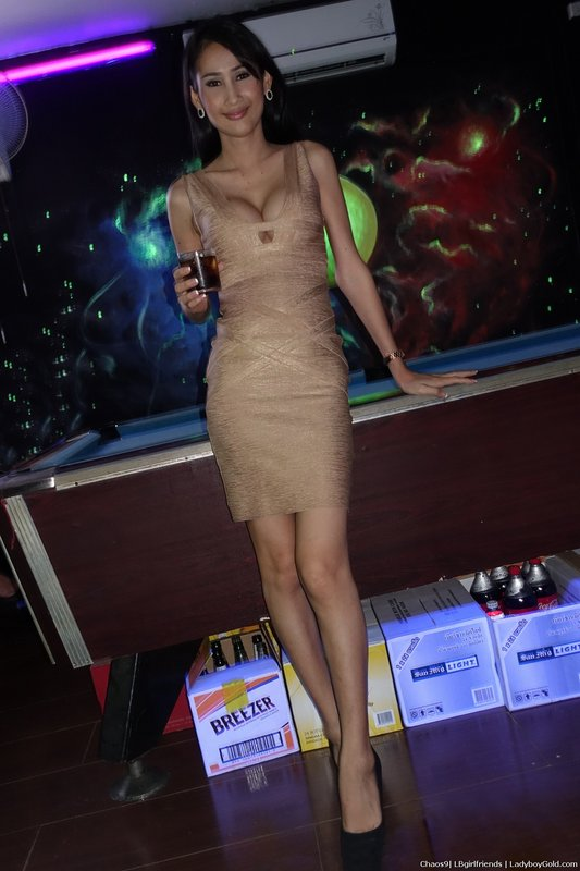 Chaos 9 Ladyboy Bar Thank you Ladyboy Gold