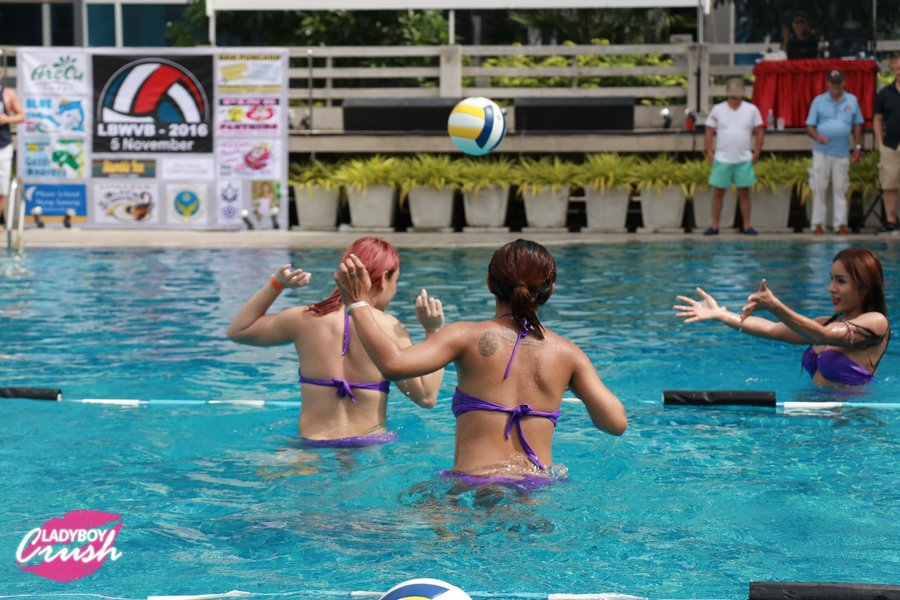 Ladyboy Volleyball
